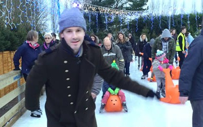 Poet On Ice – A New Year's Day Skate